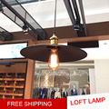Free Shipping Loft Industrial Warehouse Pendant Light American Vintage Retro Country Pendant Lamp for Restaurant Home Decoration