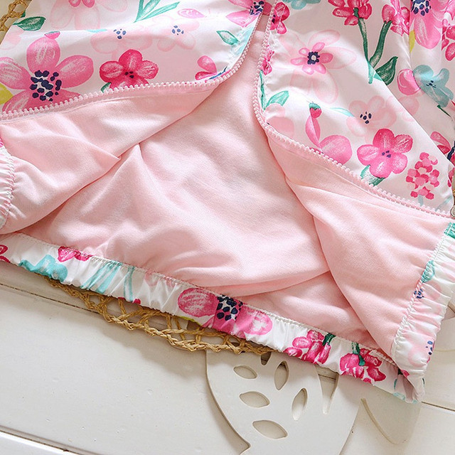 Girls Lightweight Flower Print Jacket