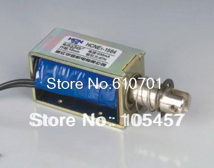 цена на 24V Pull Hold/Release 10mm Stroke 8.7Kg Force Electromagnet Solenoid Actuator HCNE1-1564