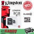 Kingston cartão micro sd cartão de memória de 4 gb 8 gb 16 gb 32 gb classe cartao de memoria de 4 microsd carte tarjeta micro sd tf atacado lote