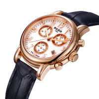 READ 2019 fashion watches lady white wrist strap for leather watchband rose gold watches women fashion watchwrist date 7003