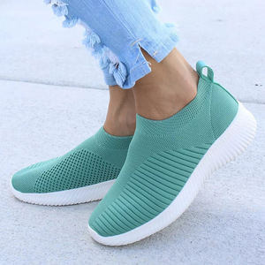 Women Shoes Knitting Sock Snea