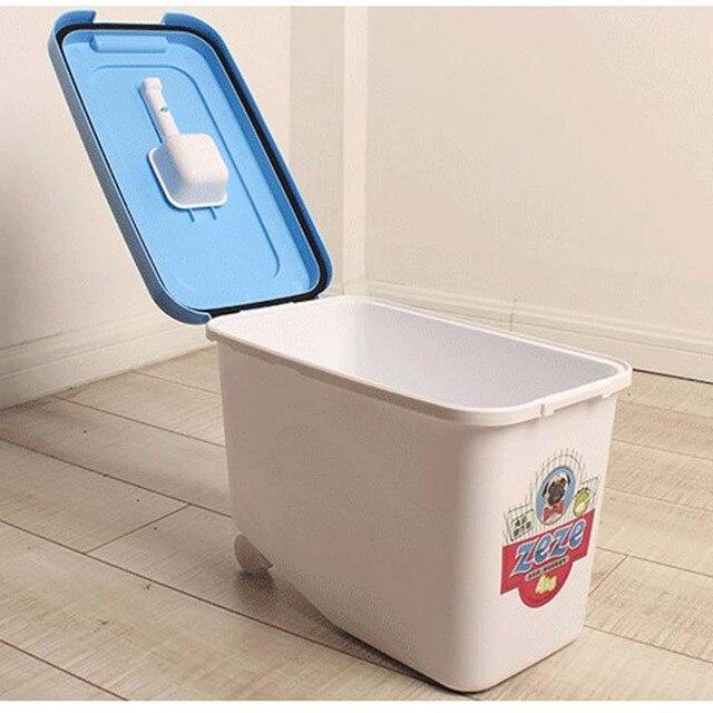 4 kg versiegelt pet dry food container hundefutter. Black Bedroom Furniture Sets. Home Design Ideas