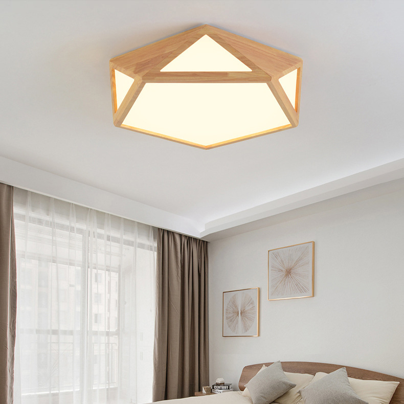 Japan Modern Led Ceiling Light Fixture Wooden Geometric Mounted Ceiling Lamp Acrylic Indoor Home Decoration Luminaria LuminaireJapan Modern Led Ceiling Light Fixture Wooden Geometric Mounted Ceiling Lamp Acrylic Indoor Home Decoration Luminaria Luminaire