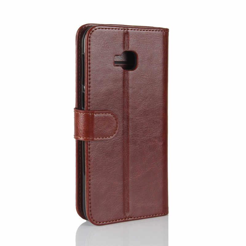 Чехол для ASUS Zenfone 4 Selfie Pro ZD552KL роскошный флип-чехол из искусственной кожи + Мягкий силиконовый чехол-бумажник для телефона ASUS ZD552KL Capas