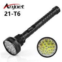 30000LM XML-21 * T6 Chiến Thuật Đèn mạnh mẽ đèn pin led Di Động Đèn Lồng LED Đèn Pin đèn Săn 18650 Ngọn Đuốc Chiếu Sáng