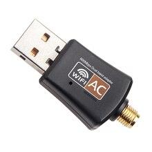 KEBETEME Mini 5Ghz 2.4Ghz 600Mbps Wireless Dual Band 802.11ac USB WiFi Adapter RTL8811AU for Desktop/Laptop/PC