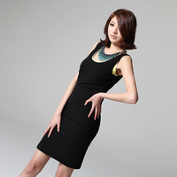 Free Shipping Ladies Summer Spaghetti Strap Top Loose Plus Size Vest Long Design Slim Hip Basic