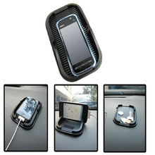 Hot Anti Slip Rubber Skidproof Pad Car Dashboard Holder For Iphone 4 4S 5 Gps Free Shipping
