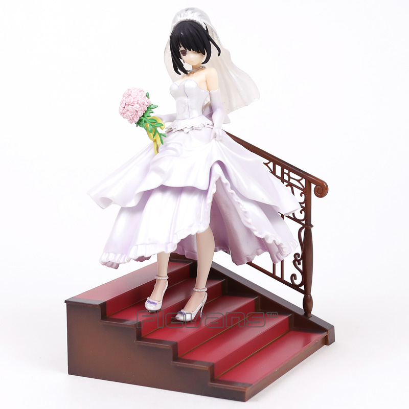 Date A Live Tokisaki Kurumi Wedding Ver. 1/7 Scale PVC Figure Collectible Model Toy 23cm григорий лепс парус live