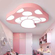 LICAN Modern Chandelier Lighting led for Kids Boys Girls Bedroom Study room Pink Blue Mashroom Ceiling Chandeliers home