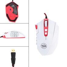REDRAGON 16400 DPI Professionnel Réglable Filaire Gaming Mouse 18 Boutons Programmables Gaming Mouse pour PC Portable Souris D'ordinateur