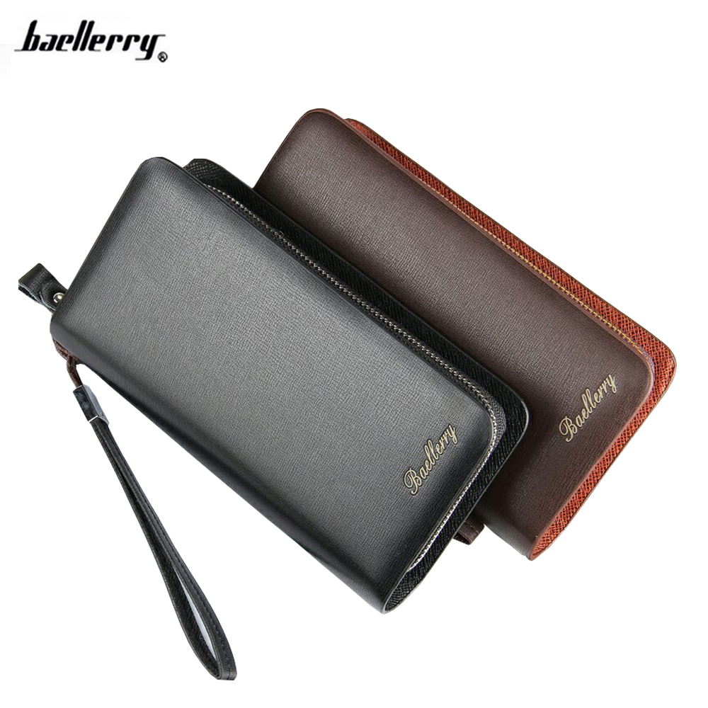 2016 New Famous Brand Baellerry  Luxury Male PU Leather Purse Men's Clutch Wallets Handy Bags Business Carteras Mujer Wallet Men baellerry business black purse soft light pu leather wallets large capity man s luxury brand wallet baellerry hot brand sale