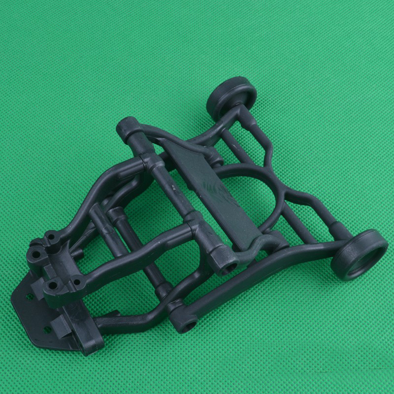 1PC 1:10 Model <font><b>Car</b></font> Frame Wheelie Bar Rear Tail <font><b>Pulley</b></font> Wheelie Bars for 1/10 Huanqi727 Slash RC <font><b>Cars</b></font> Spare Parts image