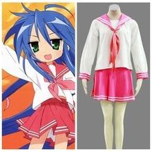 Anime lucky star ryoo secundaria mujer invierno uniforme de halloween cosplay