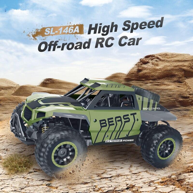 Vert 1:18 RC voitures tout-terrain RC voiture de course véhicule sur chenilles camion garçon jouet