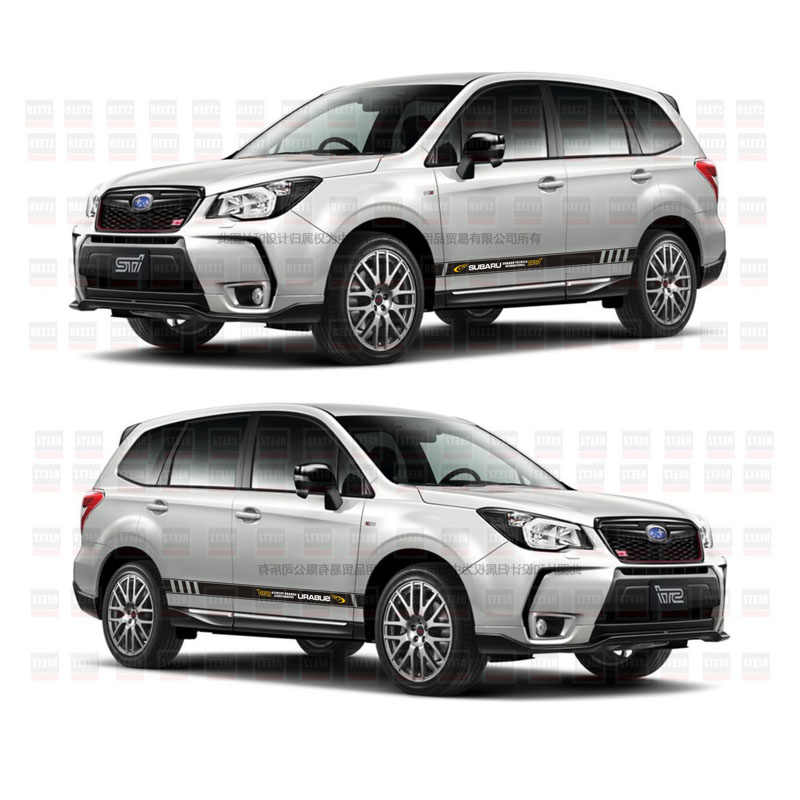TAIYAO car styling sport car sticker For Subaru 2016-2018 Forester Mark Levinson car accessories and decals auto sticker