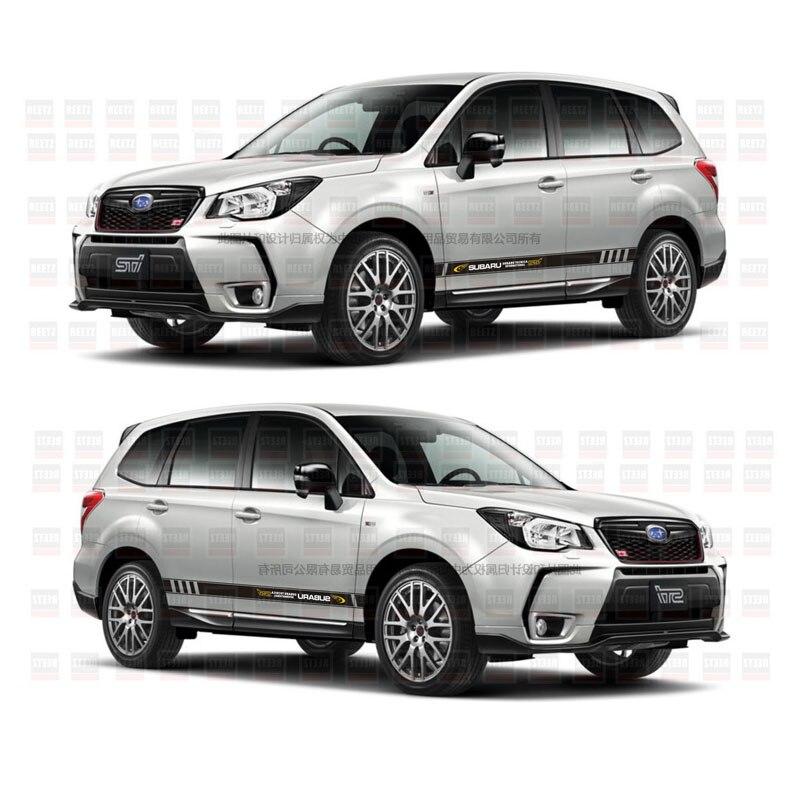 TAIYAO car styling sport autocollant de voiture Pour Subaru 2016-2018 Forestier Mark Levinson voiture accessoires et stickers auto autocollant