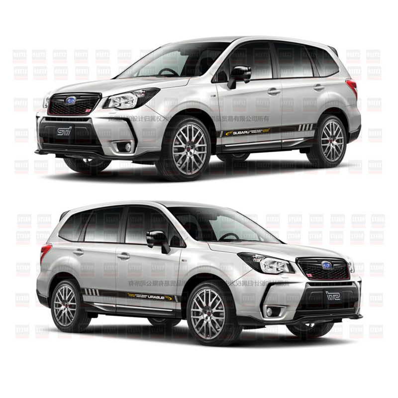 TAIYAO Car Styling Sport Car Sticker For Subaru 2016 2018