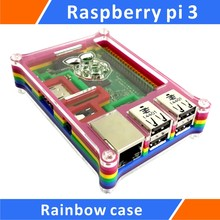 Buy Raspberry pi 3 Rainbow Case