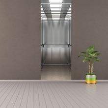 цена на Funlife 77x200cm 3D Elevator Doors 2 pcs/set Wall Stickers DIY Mural Creative Balcony Stairs Door Poster PVC Waterproof Door