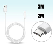 Type C USB Charging Cable For Huawei P9 Plus P9 Xiaomi Mi 5 4S ZUK LeEco Nexus 5X 6P Type C Charger 1M 2M 3M Phone USB C Cable