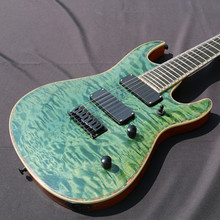 Free shipping 7 string guitar Electric Guitar,24F All Color are available real photo on show