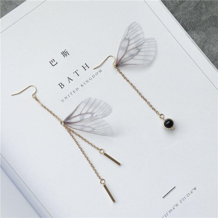 Spicy ornaments hand made butterfly earrings fairy earrings