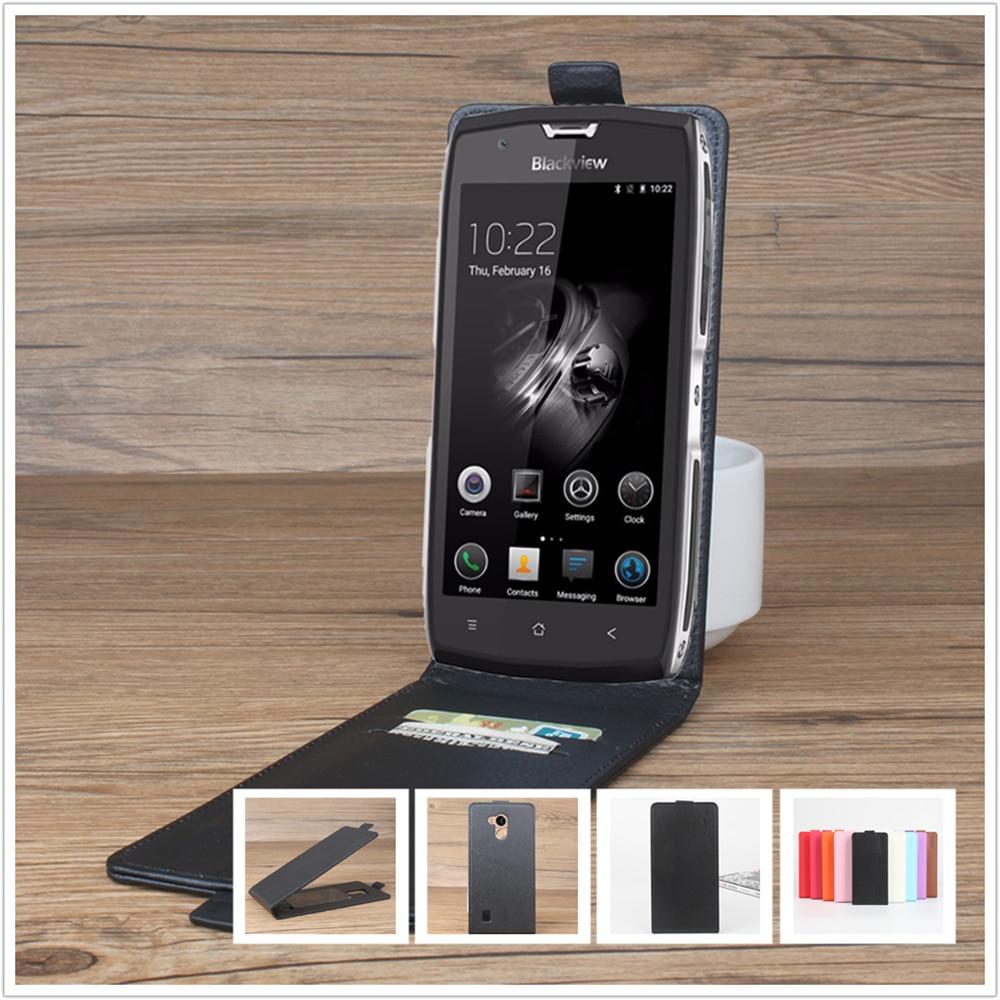 Litchi leather case para blackview bv7000 pro/bv 7000 pro 5.0 \
