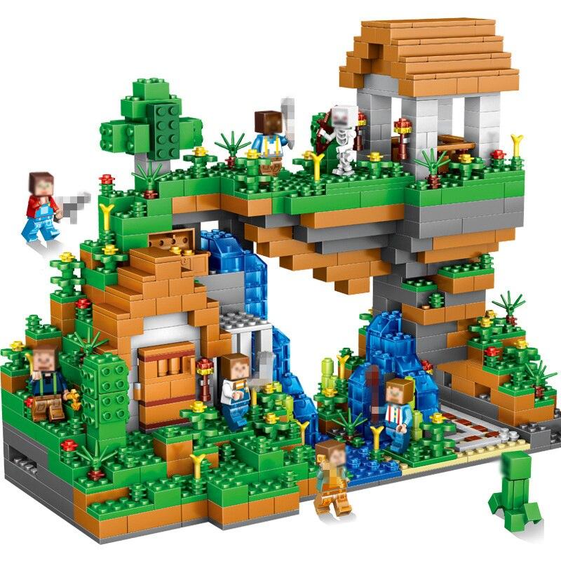Qunlong-957pcs-Blocks-Figures-Toy-For-Kids-Compatible-Legoe-Minecrafted-City-Building-Blocks-Set-Education-Toys (1)