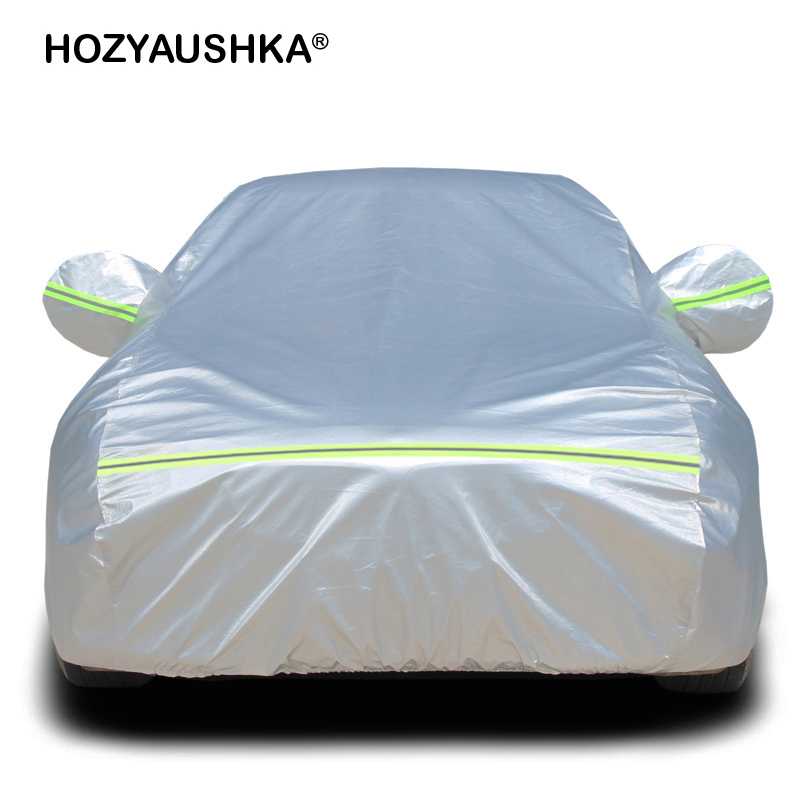 Car Cover Sewing Car Hood Protective Case Sun Protection And Rain Winter Insulation Free Shipping