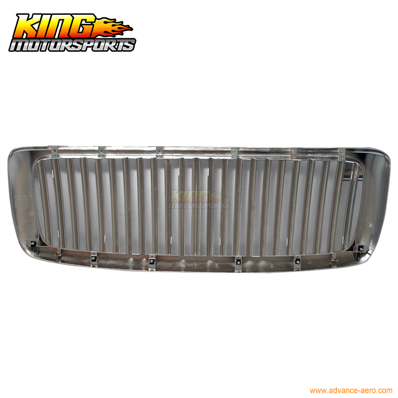 For 2002-2005 Dodge Ram 1500 Chrome Vertical Hood Grill Grille USA Domestic Free Shipping for 2004 2008 ford f150 chrome vertical front hood grill grille usa domestic free shipping hot selling