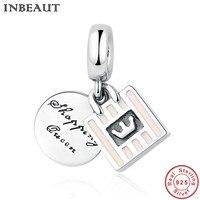 INBEAUT Famous Brand 925 Sterling Silver Queen Charm Fit Pandor Sytle Bracelet Women Charms Pendant For