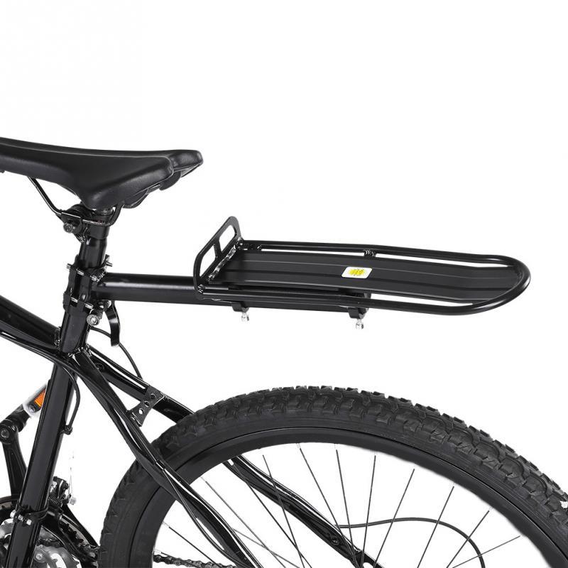 Bicycle Luggage Carrier Aluminum Alloy Bicycle Rear Seat Luggage Shelf Adjustable Mountain Bike Carrier Bracket Rack Bike Parts