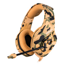 Camouflage PS4 Headset HD Stereo Gaming Headphones K1 Game Earphones Casque With Mic For PC Mobile Phone New Xbox One Computer