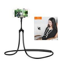 Suporte de telefone flexível 360, suporte para celular, braços longos, cama preguiçosa, de mesa, suporte para celular para iphone x x