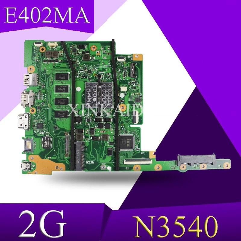XinKaidi N3540 CPU 2GB RAM E402MA Motherboard For ASUS E502MA E402MA 14