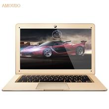 Amoudo 14 дюймов intel core i5 cpu 4 ГБ ram + 120 ГБ ssd + 750 ГБ hdd dual дисков windows 7/10 система ультратонкий ноутбук ноутбук