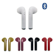 I7 i7s TWS in-ear Bluetooth Earphone Binau Wireless Headphone Earbuds Headset With MicPhone for all kinds of sumsung iphone(China)