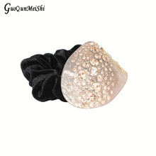 New Luxury Retail Hair Jewelry online Moon with Rhinestone Hair Accessories Bridal For Women Hair Rope gift free shipping