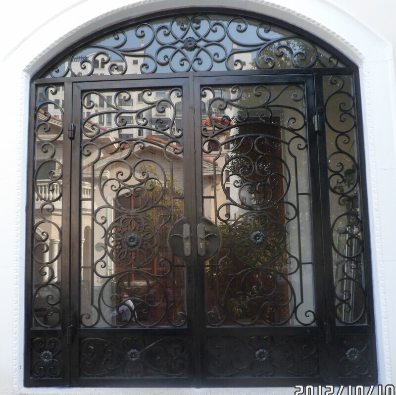 Hench 100% Steel Metal Iron Ornamental Doors Iron Steel Doors