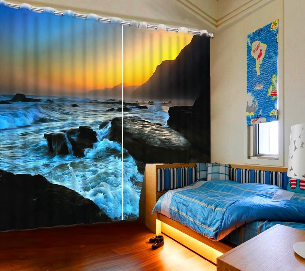 Dimensioni Finestre Camera Da Letto us $106.92 46% di sconto|tende tende moderne per la camera da letto  personalizzato di qualsiasi dimensione 3d bella finestra tende nuovo 3d
