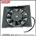 12V Radiator Thermo Cooler Water Radiator Electric Cooling Fan For 200/250cc Quad Dirt Bike ATV Buggy