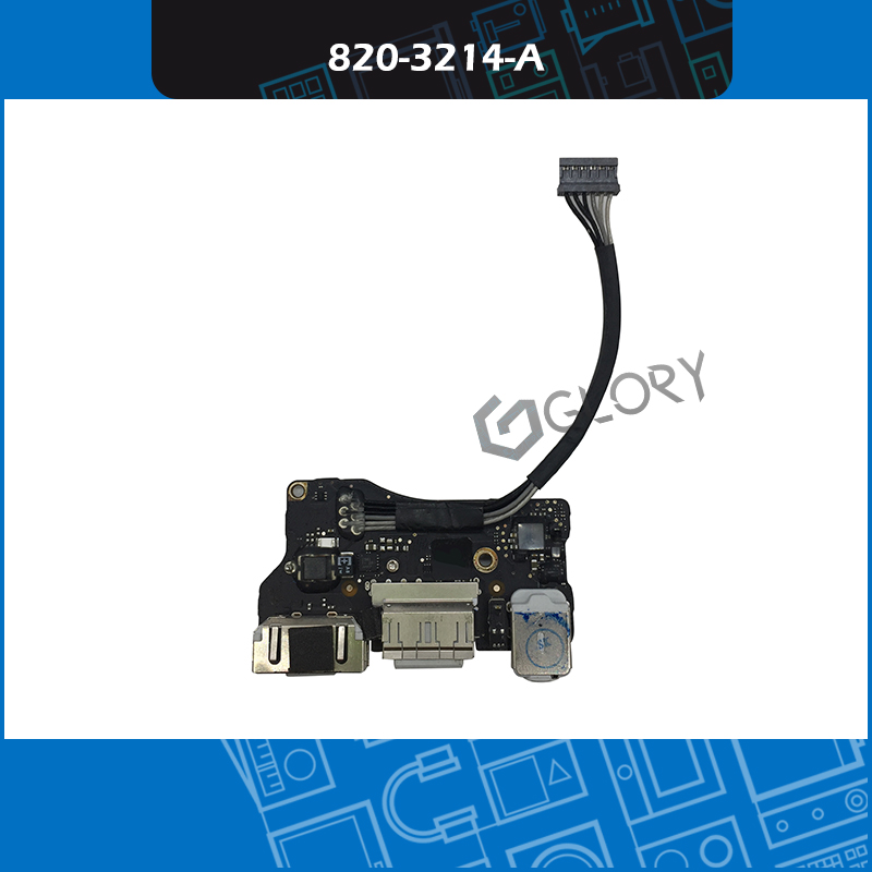 5 pcs/Lot A1466 i/o USB alimentation carte Audio DC Jack 820-3214-A pour Apple MacBook Air 13 A1466 923-0125 mi 2012 MD231 EMC 25595 pcs/Lot A1466 i/o USB alimentation carte Audio DC Jack 820-3214-A pour Apple MacBook Air 13 A1466 923-0125 mi 2012 MD231 EMC 2559