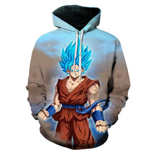 Dragon Ball Z 3d Pullovers Sweatshirt Hoodie