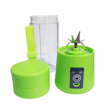 цена на 400ml Portable Juice Blender USB Juicer Cup Multi-function Fruit Mixer Six Blade Mixing Machine Smoothies Baby Food dropshipping