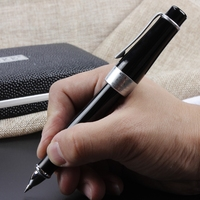 Luxury Black Rollerball Pen Duke 0.5 Black Ink Business Office Pens Gift Stationery with An Original Gift Box Free Shipping