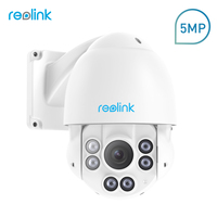 Reolink PTZ IP Camera PoE Outdoor HD 4MP Video 4x Optical Zoom Pan Tilt High Speed