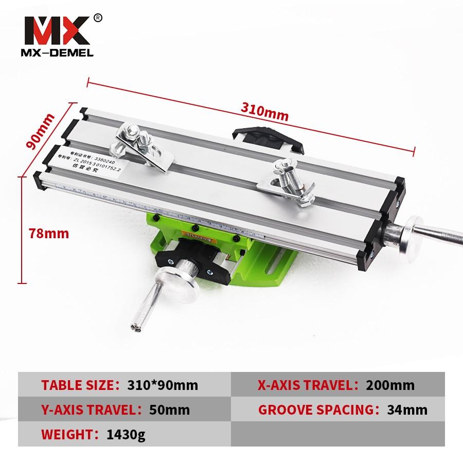 Miniatiūrinis precizinis daugiafunkcinis frezavimo staklės - Staklės ir priedai - Nuotrauka 2