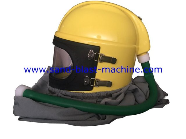 sandblasting helmet blast head protection helmet sand. Black Bedroom Furniture Sets. Home Design Ideas